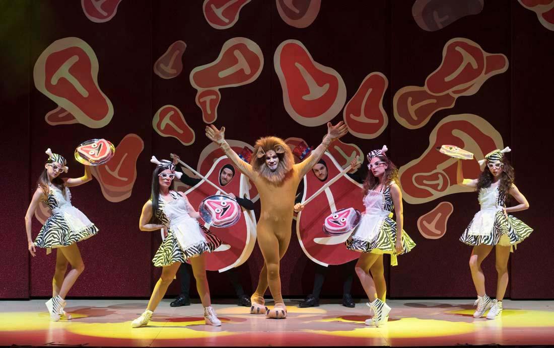 actuacion teatro musical