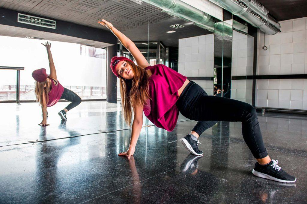 clase de breakdance