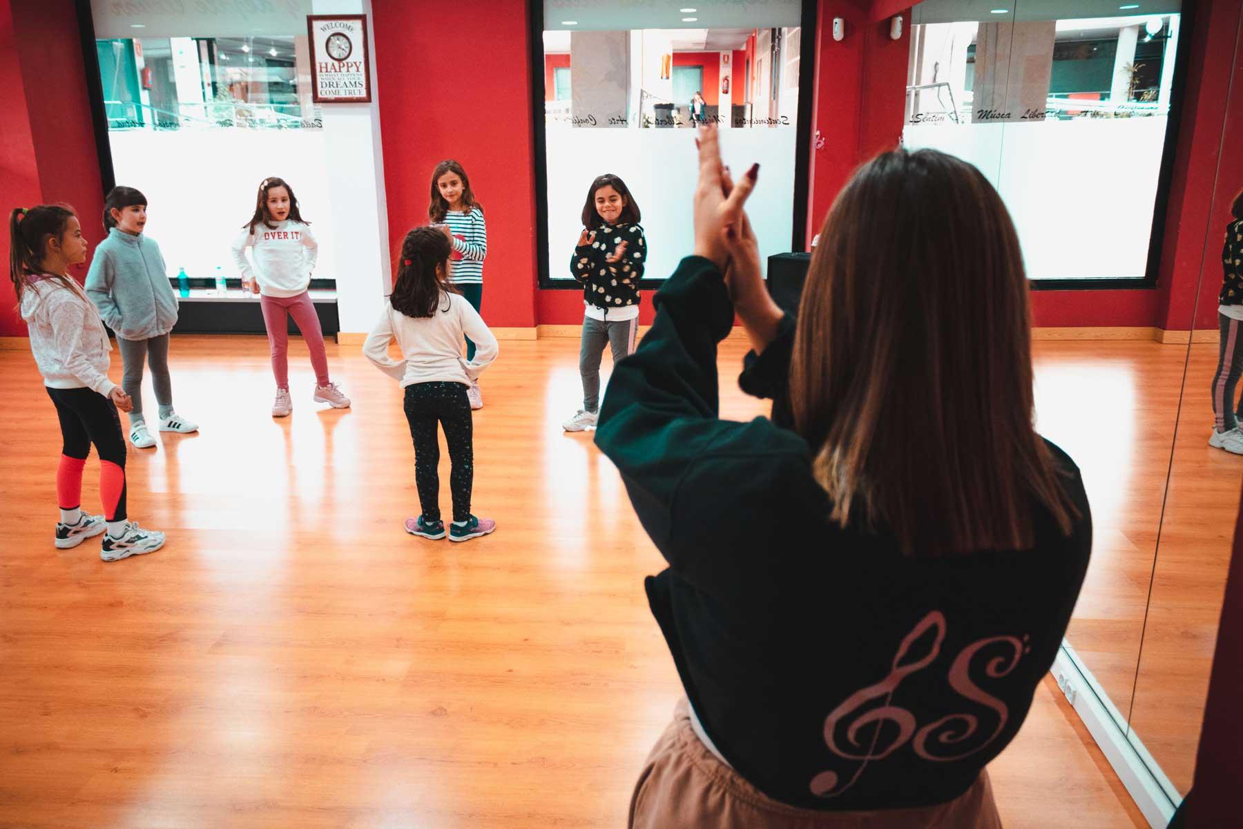 clase de baile para ninos
